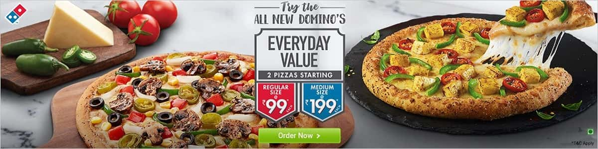 my new home page dominos 2