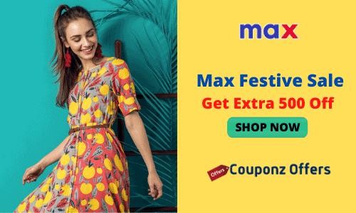 max festive sale