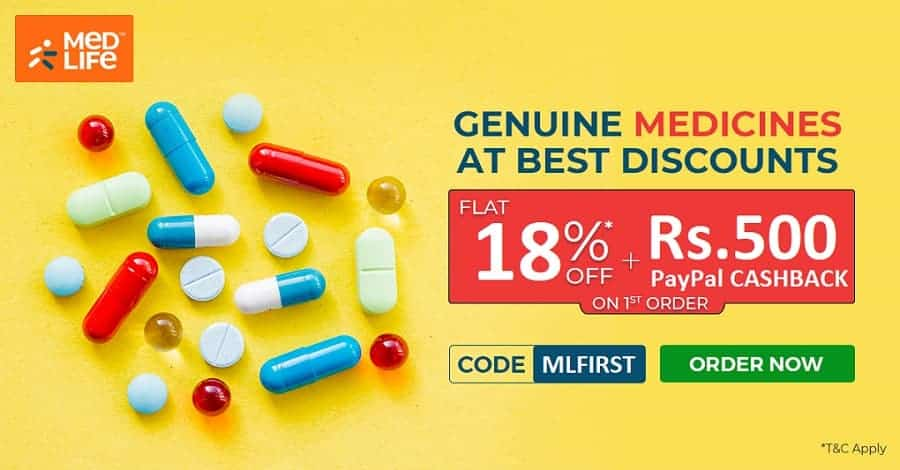medlife paypal offer coupon code