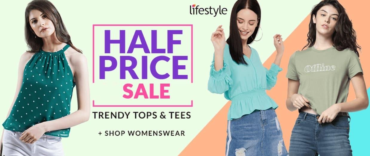 lifestyle half price sale