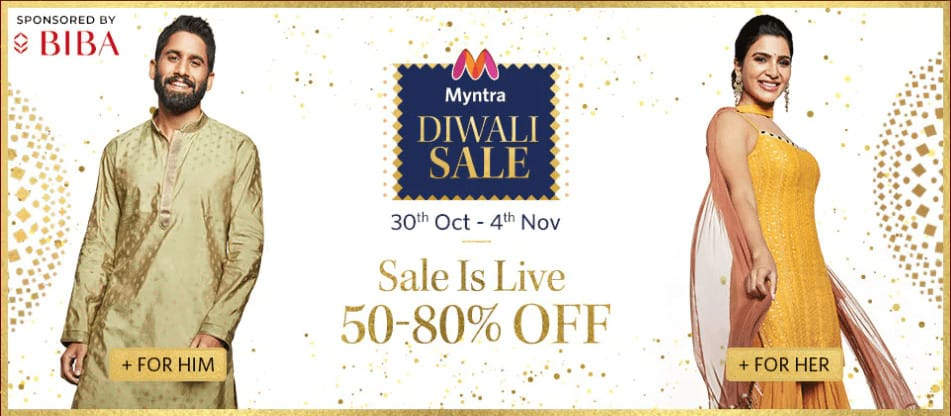 Most Awaited Special Diwali Fashion Sale