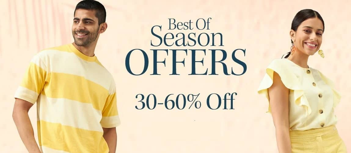 myntra best season sale