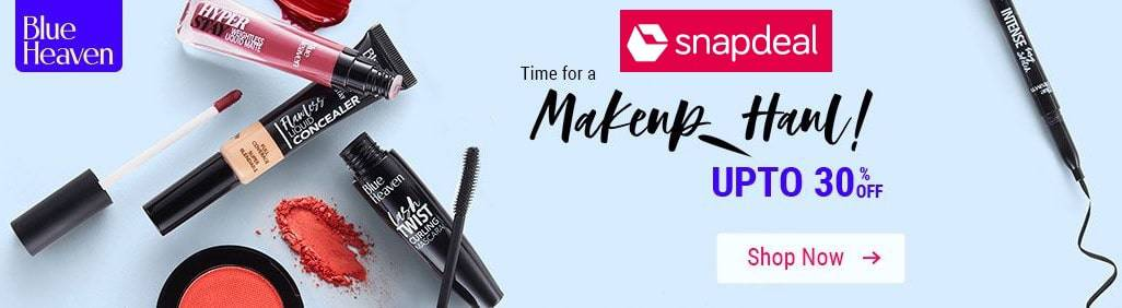 snapdeal makeup offers